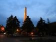 Ночной Волгоград. Вечный огонь. Площадь павших борцов.