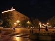 Night Volgograd. Волгоград, аллея Героев, 1
