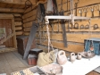 Khokhlovka, ethnographic museum. Изба усадьбы Баталова