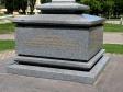 The fortress hill. Каменный Крест на Крепостной горе. Памятник в честь придания Ставрополю статуса города.