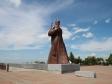 Крепостная гора. Памятник красноармейцам.