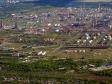 Flying over Novokuybyshevsk. Промышленная зона Новокуйбышевска