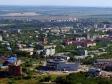 Полёт над Новокуйбышевском. Начало проспекта Победы. В центре улица Островского.