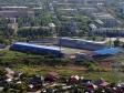 """Flying over Novokuybyshevsk. Стадион """"Нефтяник"""""""
