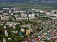 Flying over Novokuybyshevsk. Улицы Киевская и Моложедная