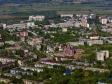 Полёт над Новокуйбышевском. Улицы Гагарина и Островского. Еще строящаяся церковь в честь иконы Пресвятой Богородицы Умиление