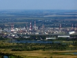 Flying over Novokuybyshevsk. Нефтеперерабатывающая площадка Новокуйбышевска