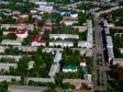 Flying over Novokuybyshevsk. Улицы Чернышевского, Коммунистическая и Миронова