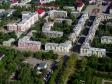Flying over Novokuybyshevsk. Улицы 50-летия НПЗ и Советская.