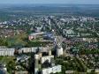 Flying over Novokuybyshevsk. От начала и до конца проспект Победы.