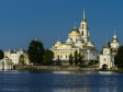 Nil Monastery. Собор Богоявления Господня и Архиерейская пристань.