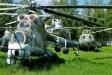 Центральный музей ВВС. Вертолет Ми-24.