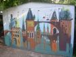 Граффити Самары. Около дома №158 по ул.Революционной