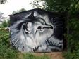 Граффити Самары. Находится около дома №155 по ул. Ташкентской