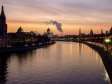 Moscow from dusk till dawn