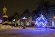 New Year's Moscow. Пушкинская площадь