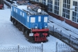 Музей железнодорожного транспорта. Грузовой электровоз серии ВЛ19 заводской №035. Построен Новочеркасским электровозоремонтным заводом в 1932г. Конструктивная скорость - 85 км/ч. Вес полные тонны - 117тн. Сила тяги: часовая - 20000 кг, длительная - 17000 кг. Нагрузка на движущую ось - 19,5 тн. Диаметр движущего колеса - 1220 мм. Длина по осям автосцепки - 6390 мм. Количество тяговых двигателей - 6. Тип тягового двигателя ДП7-340А. Мощность: часовая - 2040 кВт, длительная - 1800 кВт. Высота при опущенном пантографе - 5017 мм. Осевая формула: Зо+Зо.