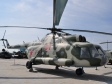 Музей УГМК (Самолеты). Советский/российский многоцелевой вертолёт МИ-8 (1965г.)