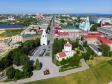 . От Спасской башни Сызранского Кремля начинается улица Советская.