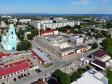 . Начало улицы Карла Маркса. На переднем плане Казанский Кафедральный собор и Хлебозавод