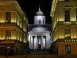Ночной Невский проспект. Невский, 40-42 лит Б Армянская Апостольская Церковь Святой Екатерины