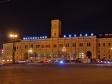 Ночной Невский проспект. Московский железнодорожный вокзал. Невский, 85 / Лиговский пр., 16