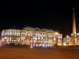 """Ночной Невский проспект. Гостиница """"Октябрьская"""" Невский, 118"""
