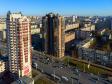 Московский район с высоты. Пересечение улицы Варшавской и Ленинского проспекта
