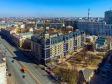 Московский район с высоты. Жилой дом на Московский проспекте рядом со Смоленским сквером
