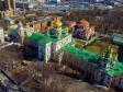 Московский район с высоты. Воскресенский Новодевичий монастырь