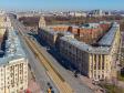 Московский район с высоты. Жилой дом Московский проспект, 192-194 рядом с парком Победы
