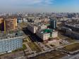 Московский район с высоты. Санкт-Петербургский городской суд на улице Бассейной