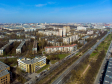 Московский район с высоты. Проспект Космонавтов и улица Титова