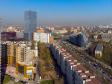Московский район с высоты. Краснопутиловская улица и площадь Конституции