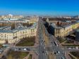 Московский район с высоты. Пересечение Московского проспекта и улиц Победы и Фрунзе