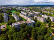 Фотографии Соликамска с высоты. Дома по улице Парижской Коммуны и 20 лет Победы