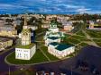 Фотографии Соликамска с высоты. Главные достопримечательности Соликамска - Троицкий собор и Соборная Колокольня