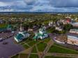 Фотографии Соликамска с высоты. Ансамбль исторических зданий Соборной площади