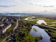 Фотографии Соликамска с высоты. Река Усолка - левый приток Камы