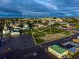 Фотографии Соликамска с высоты. Исторический центр Соликамска. Центральный сквер.
