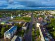 Фотографии Соликамска с высоты. Улица 20 лет Победы в районе центра города.