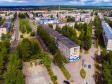 Фотографии Соликамска с высоты. Пересечение проспекта Строителей и улицы Матросова. Площадь Ладкина.