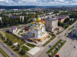 Альметьевск с высоты. Казанский кафедральный собор