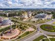 Альметьевск с высоты. Соборная площадь