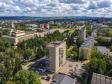 Альметьевск с высоты. Улица Ленина и площадь Нефтяников