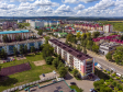 Альметьевск с высоты. Проспект Строителей и улица Шевченко