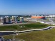 Саранск - столица Республики Мордовия с высоты.. Микрорайон Юбилейный и Мордовия Арена