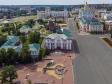 Саранск - столица Республики Мордовия с высоты.. Улица Советская. Администрация городского округа Саранск