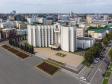 Саранск - столица Республики Мордовия с высоты.. Дом Республики