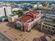 Саранск - столица Республики Мордовия с высоты.. Государственный музыкальный театр им. И.М. Яушева